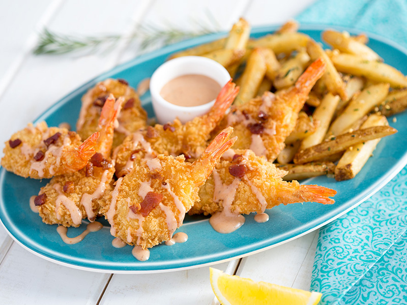 Mrs. Friday's® Gold Pack® Fantail Shrimp, U/12